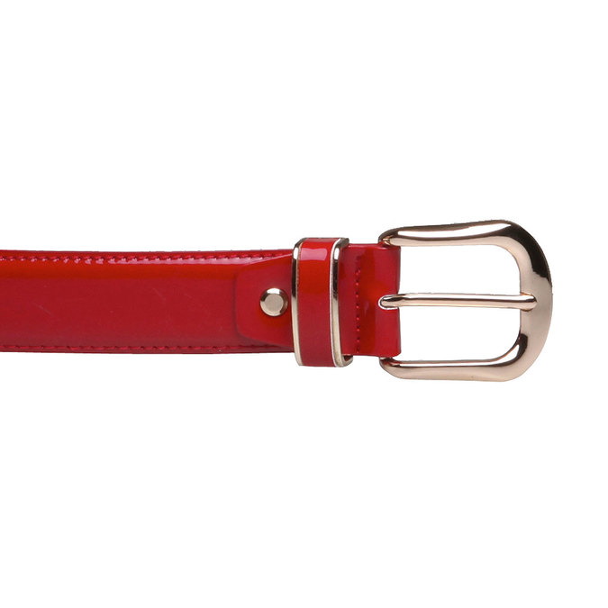 Červený opasek bata, červená, 951-5131 - 26