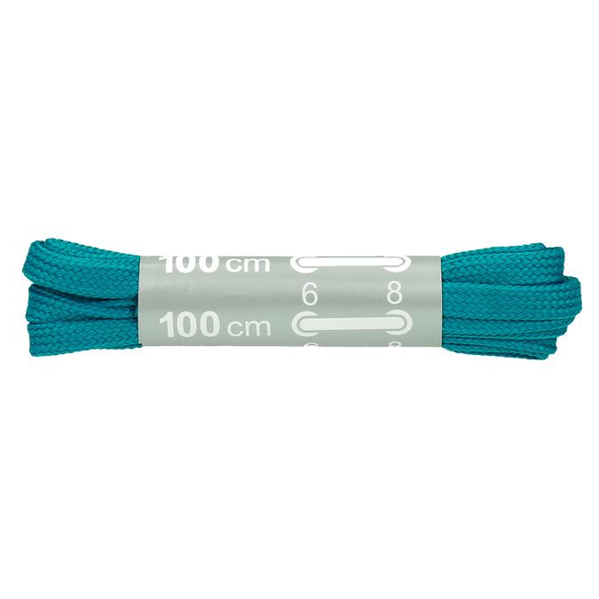 Barevné tkaničky bata, tyrkysová, 999-7366 - 13