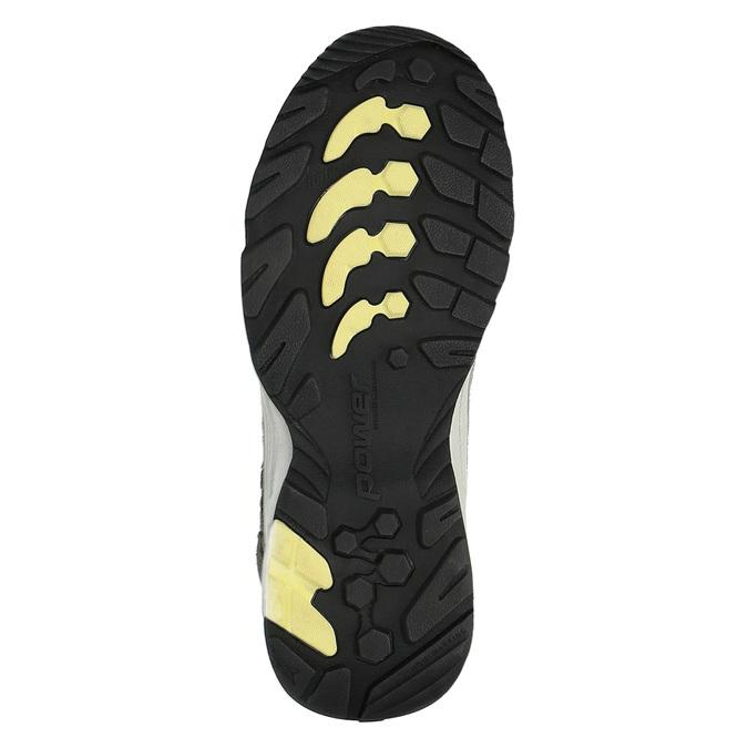 Dámská kožená obuv v Outdoor stylu power, šedá, 503-2829 - 26