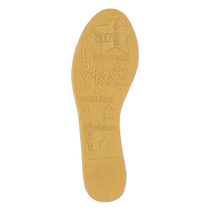 Dámská obuv typu Espadrilles bata, modrá, 2019-559-9420 - 26