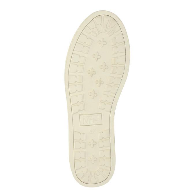 Kožená kotníčková obuv napapijri, hnědá, 894-3006 - 26