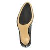 Černé lodičky z lakované kůže hogl, černá, 724-6010 - 26