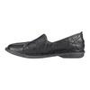 Dámská kožená obuv bata, černá, 556-6100 - 16