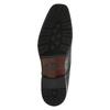 Kožené polobotky v Derby střihu bata, černá, 824-6674 - 26