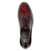 Dámské Derby polobotky bata, červená, 528-5600 - 19