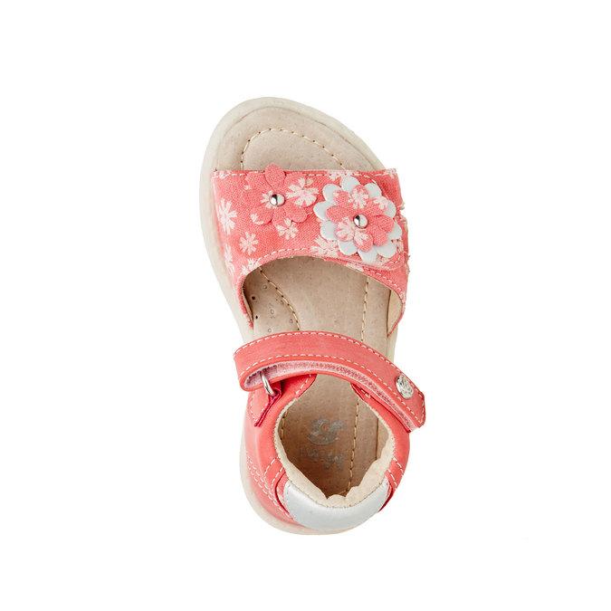 Dětské sandály mini-b, oranžová, 169-5100 - 19