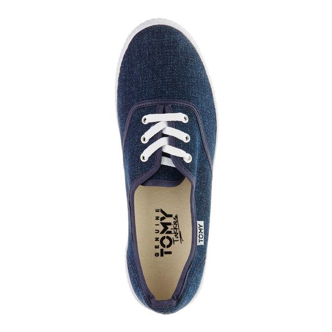 Denimové tenisky tomy-takkies, modrá, 519-9111 - 19