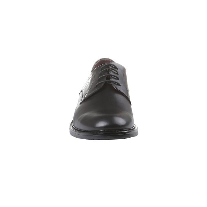Kožené polobotky bata-comfit, černá, 824-6938 - 16