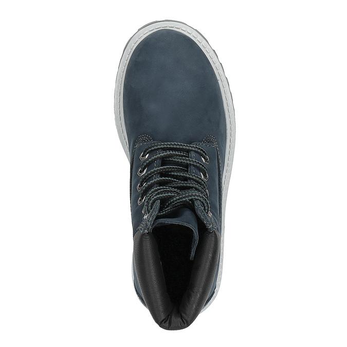 Dětská zimní obuv nad kotníky weinbrenner-junior, modrá, 396-9263 - 19