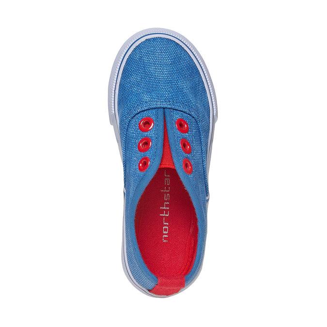 Dětské Slip on boty mini-b, modrá, 2019-219-9150 - 19