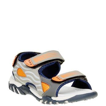 Dětské sandály mini-b, hnědá, 261-2168 - 13
