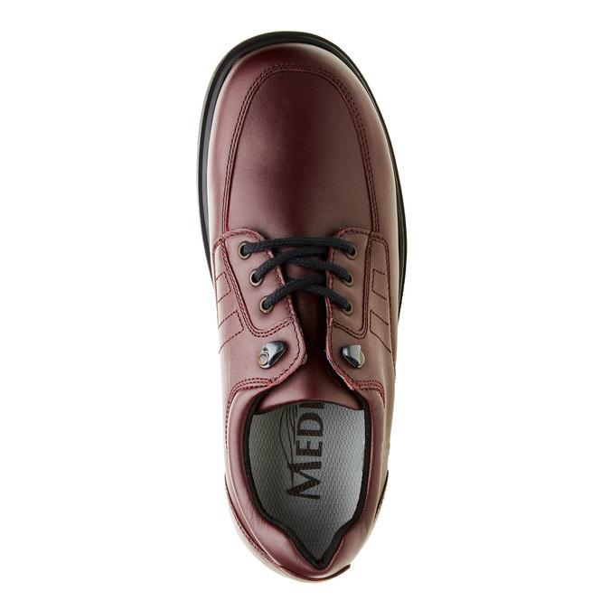 Pánská zdravotní obuv medi, červená, 824-5202 - 19