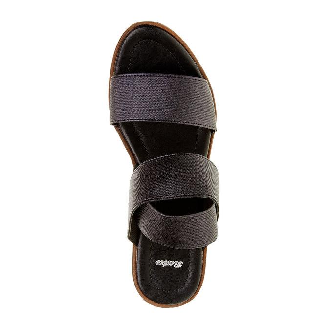 Dámské černé sandály na platformě bata, 2019-761-6300 - 19