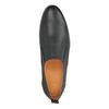 Pánské kožené Slip on boty bata, černá, 814-9148 - 19