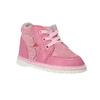 Dívčí kožená domácí obuv bata, růžová, 104-5001 - 13