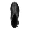 Dámská kožená zimní obuv bata, černá, 594-6347 - 19