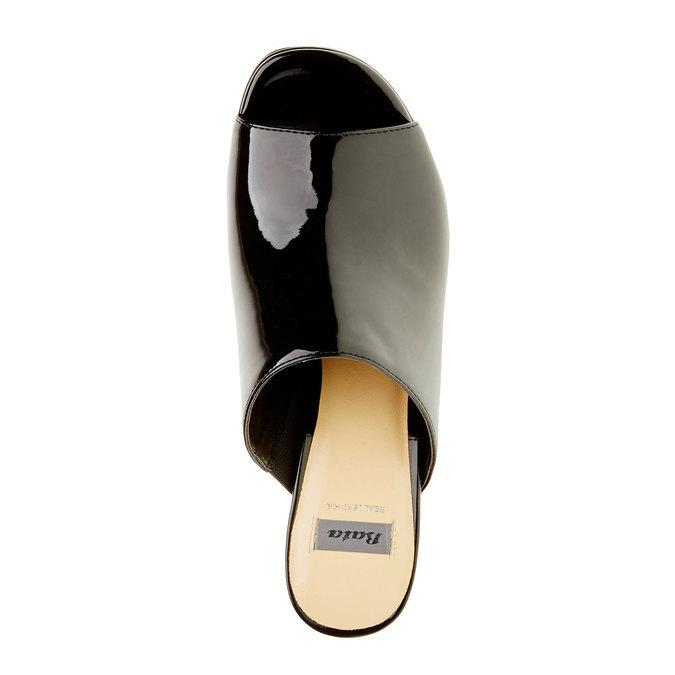 Dámské lakované nazouváky bata, 2019-761-6551 - 19