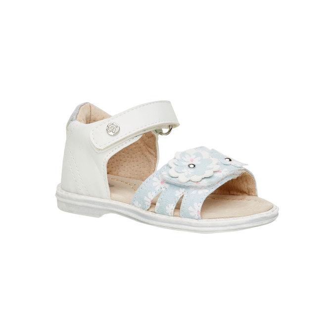 Dětské sandály mini-b, bílá, 169-1100 - 13