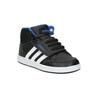 Dětské kotníčkové tenisky na suchý zip adidas, černá, 101-6231 - 13