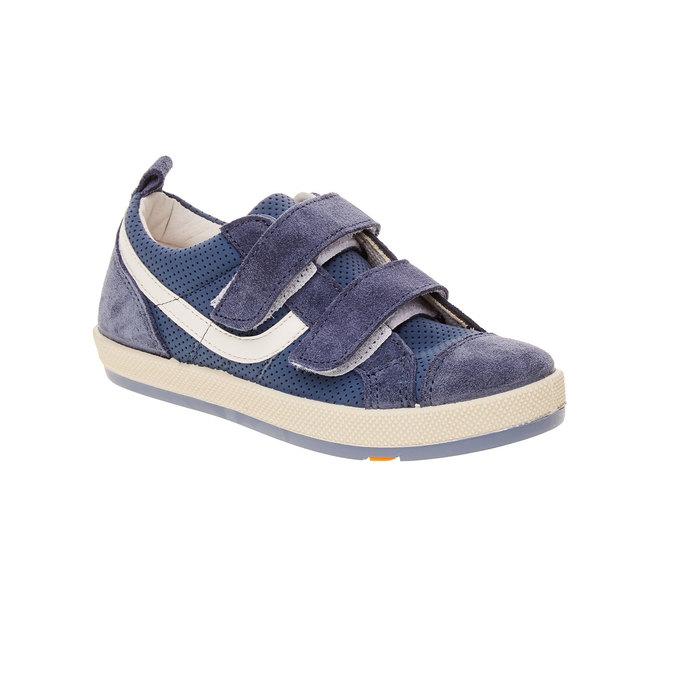 Dětské tenisky s perforací flexible, modrá, 2019-311-9217 - 13