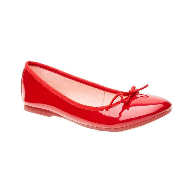 Červené baleríny bata, 2019-521-5144 - 13
