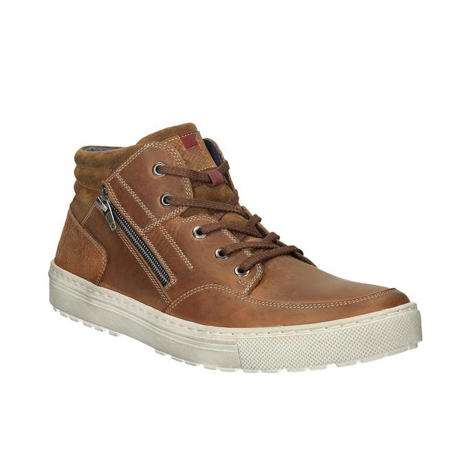 Pánské kotníčkové tenisky bata, hnědá, 826-3650 - 13