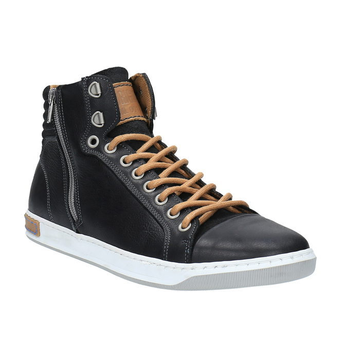 Pánské kotníčkové tenisky bata, černá, 844-6625 - 13