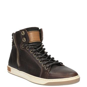 Pánské kotníčkové tenisky bata, hnědá, 844-4625 - 13