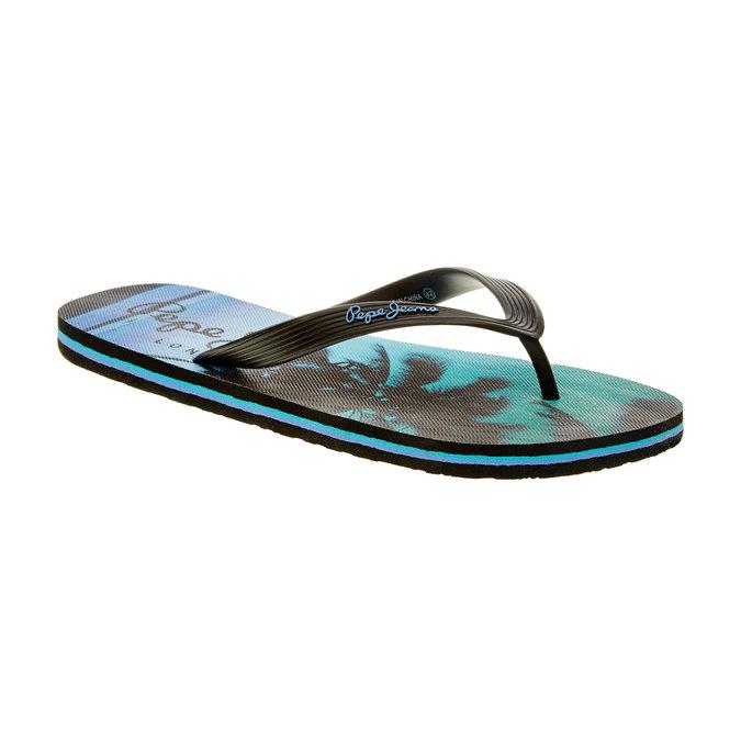 Pánské žabky pepe-jeans, černá, 860-6001 - 13