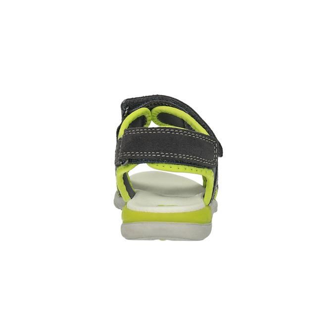 Dětské sandály mini-b, šedá, 363-2182 - 17