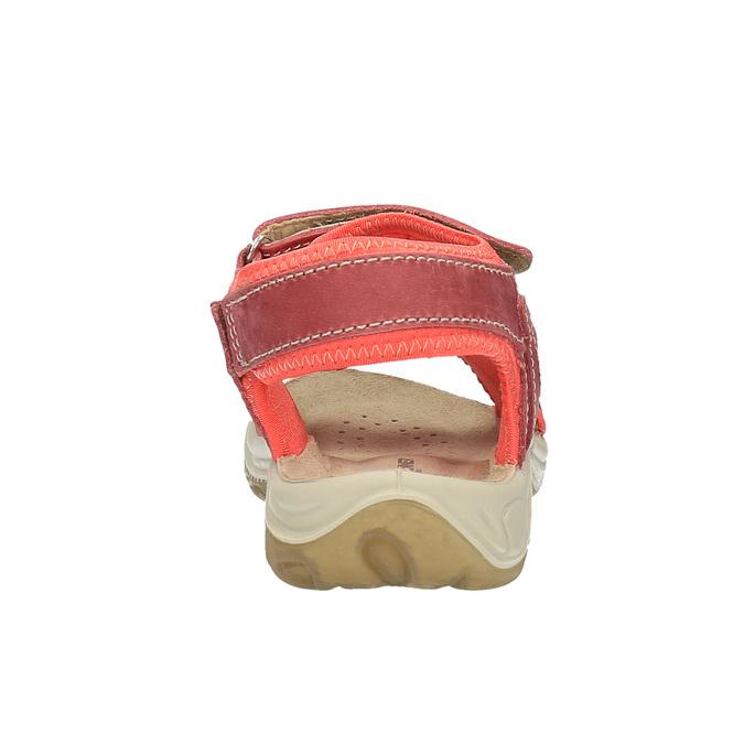 Dětské kožené sandály weinbrenner-junior, oranžová, 366-5170 - 17