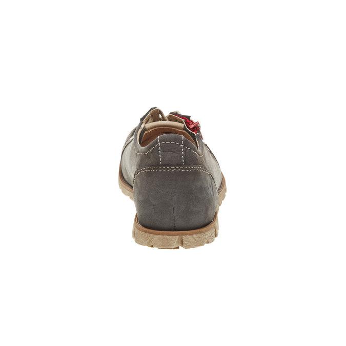 Kožené tenisky se zipem weinbrenner, hnědá, 546-9246 - 17