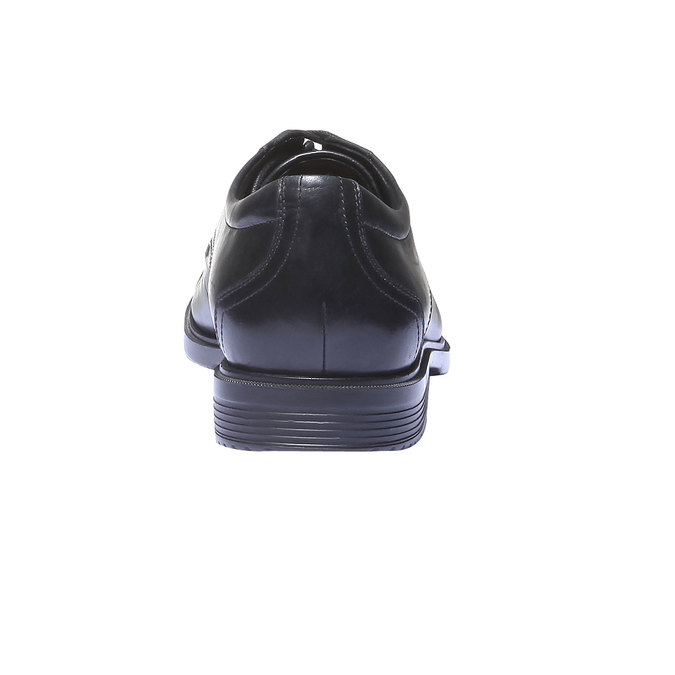 Pánské kožené polobotky rockport, černá, 824-6487 - 17