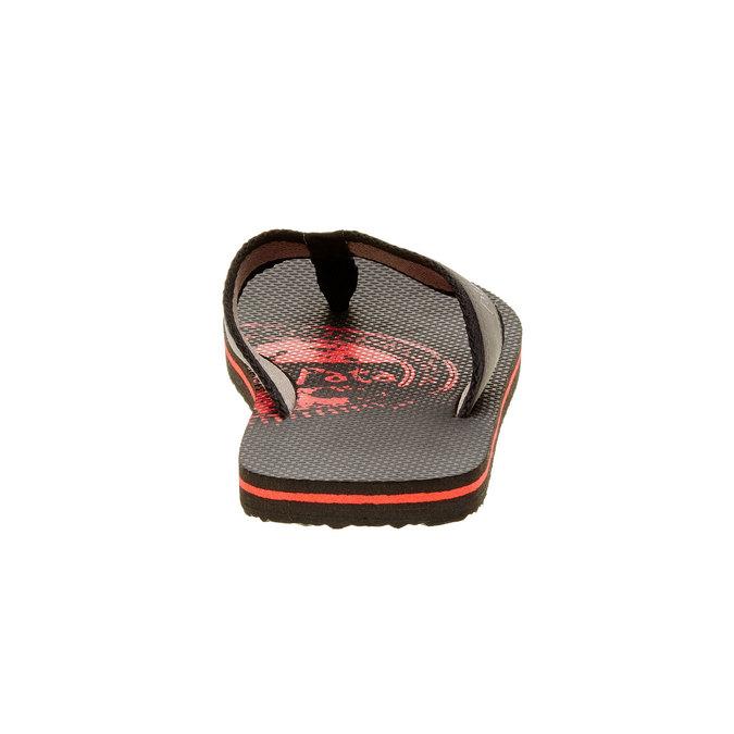 Pánské žabky pata-pata, černá, 881-6601 - 17