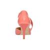 Dámské lodičky do špičky s páskem přes nárt bata, vícebarevné, růžová, 724-0904 - 17