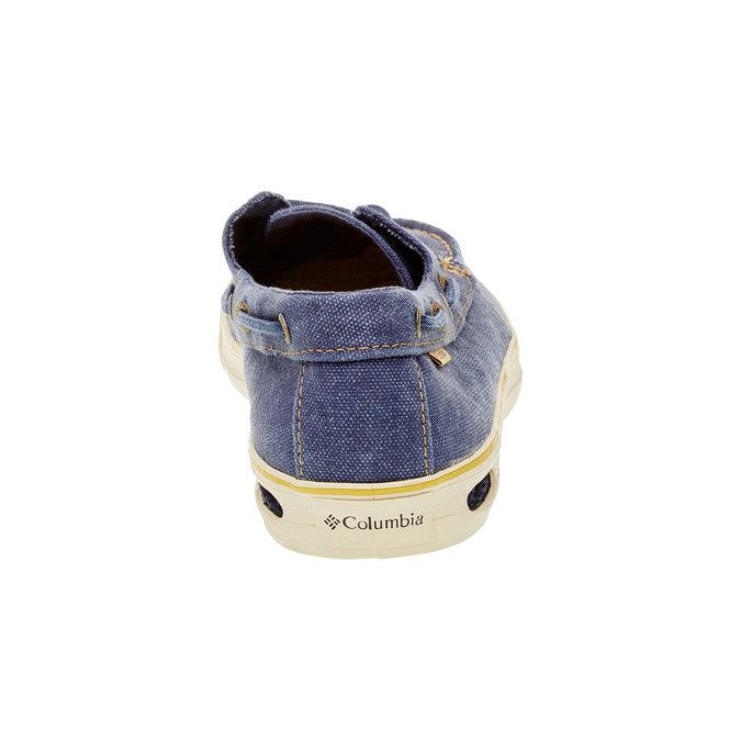 Ležérní mokasíny columbia, modrá, 849-9025 - 17