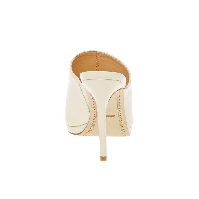 Dámské sandály na vysokém podpatku bata, béžová, 761-8551 - 17