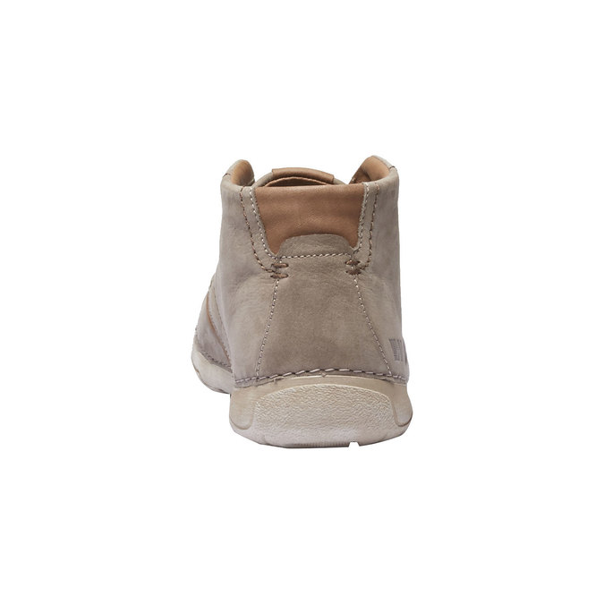 Kožená kotníčková obuv weinbrenner, béžová, 896-2442 - 17
