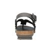 Dámské kožené sandály weinbrenner, černá, 566-6101 - 17