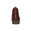 Kožené Chelsea boots bata, hnědá, 596-4606 - 17