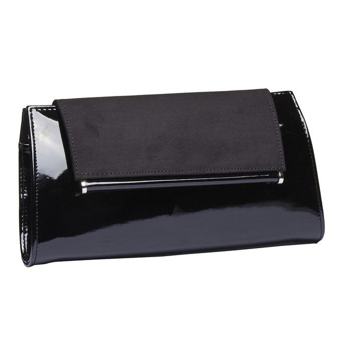 Dámské psaníčko bata, černá, 961-6745 - 13