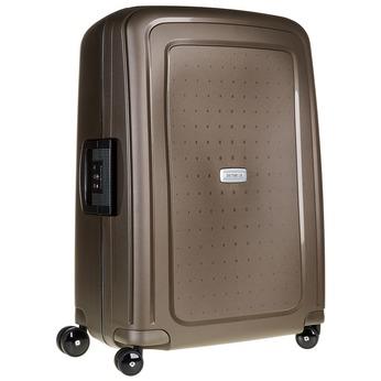 Kvalitní skořepinový kufr samsonite, hnědá, 960-4322 - 13