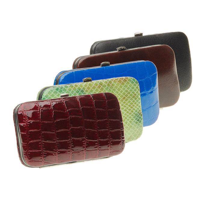 Manikúra v koženém pouzdře bata, vícebarevné, 944-0322 - 13