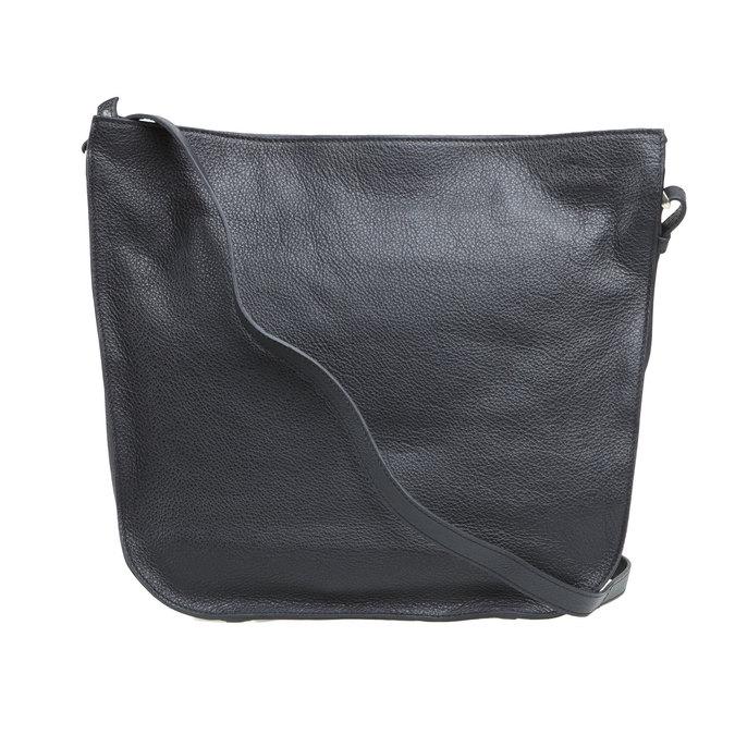 Kožená kabelka elega, černá, 964-6149 - 26