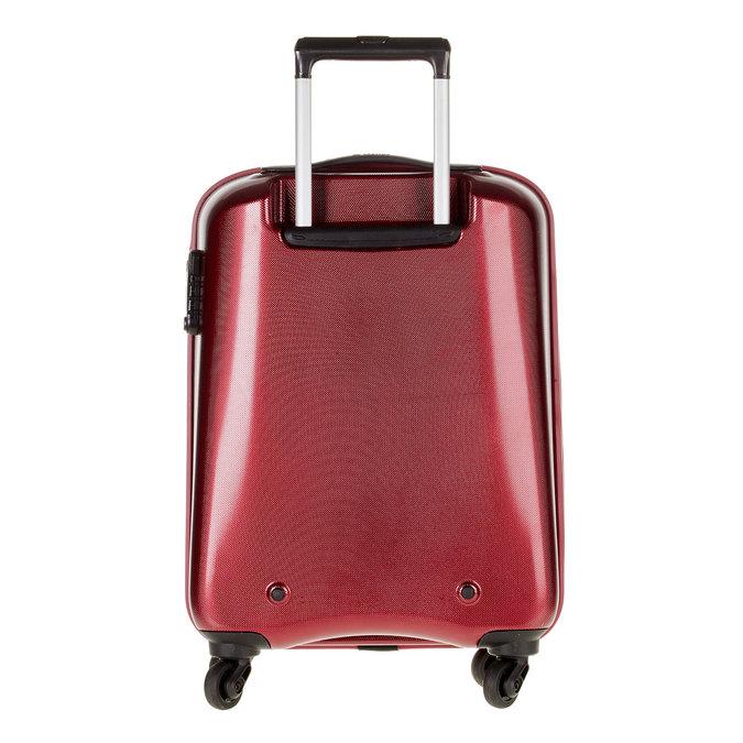 Skořepinový kufr na kolečkách carlton, červená, 960-5100 - 26