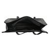 Hranatá kabelka v Shopper stylu bata, černá, 961-6736 - 15
