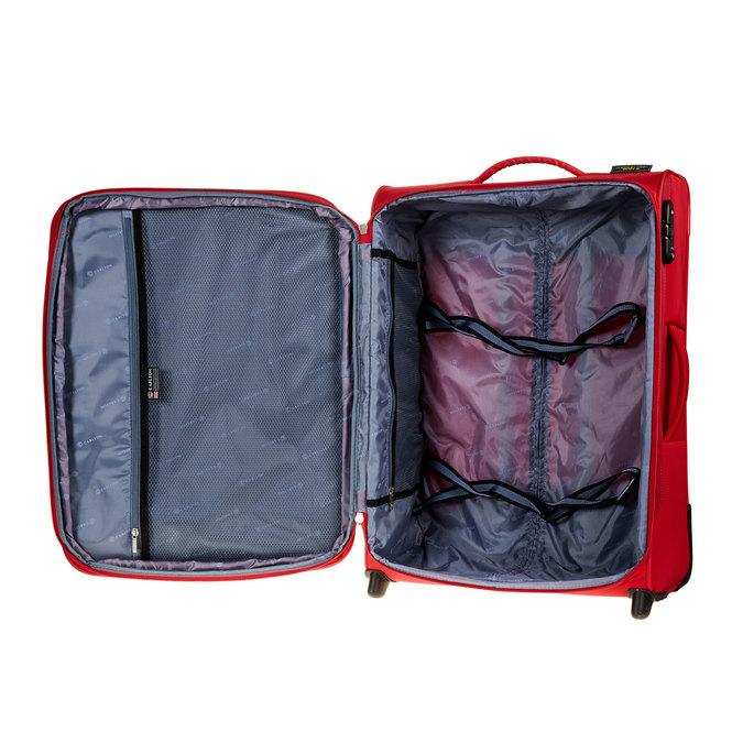 Kufr na kolečkách carlton, červená, 969-5146 - 15