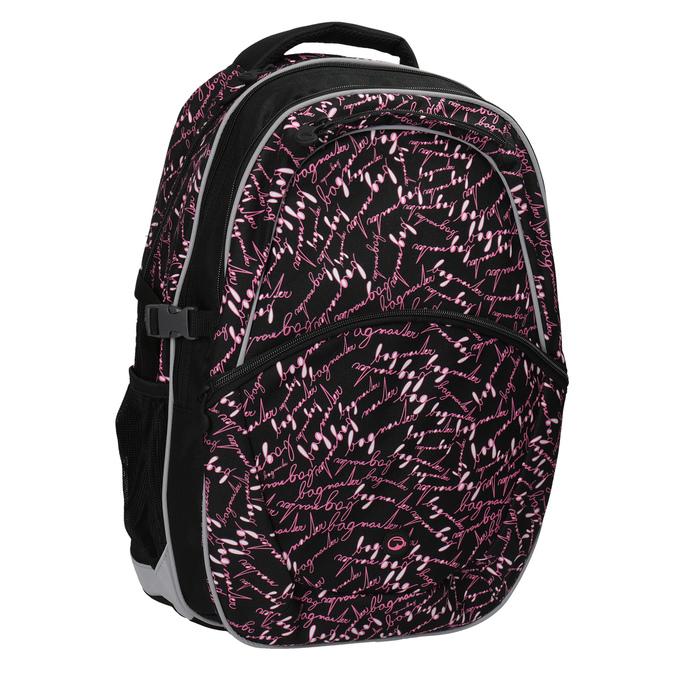 Školní batoh s potiskem bagmaster, černá, 969-6602 - 13