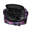 Školní batoh s motýlky bagmaster, růžová, fialová, 969-5607 - 15