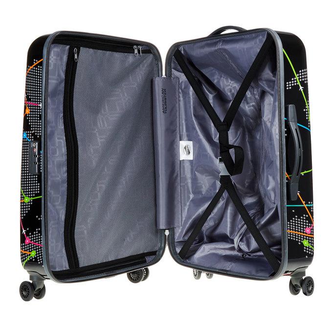 Skořepinový kufr s barevným potiskem american-tourister, černá, 960-6106 - 15